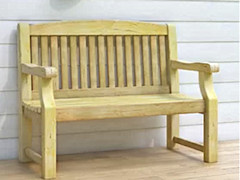 bench - wooden